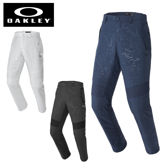 オークリー ゴルフウェア ロングパンツ メンズ SKULL SPATIAL パデッド パンツ 422506JP OAKLEY
