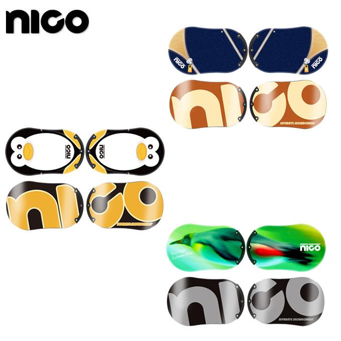 【ポイント3倍 10/11 8:59まで】 ニコ NICO スノーボード 板 メンズ スタンダード ガード STANDARD GUARD
