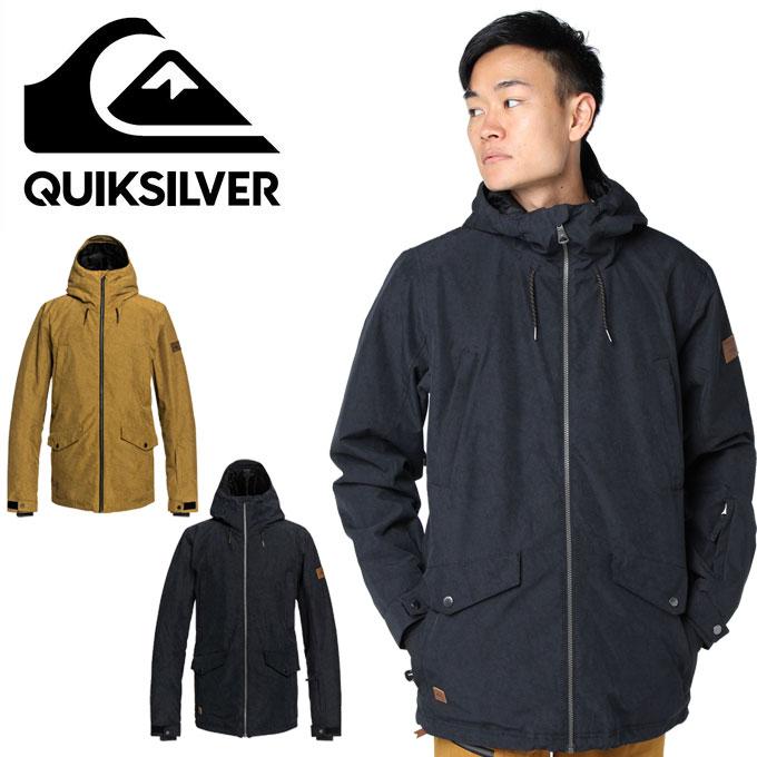 クイックシルバー QUIKSILVER スノーボードウェア ジャケット DRIFT JK EQYTJ03182