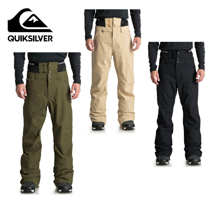クイックシルバー QUIKSILVER スノーボードウェア パンツ メンズ ESTATE GAITER PT EQYTP03092