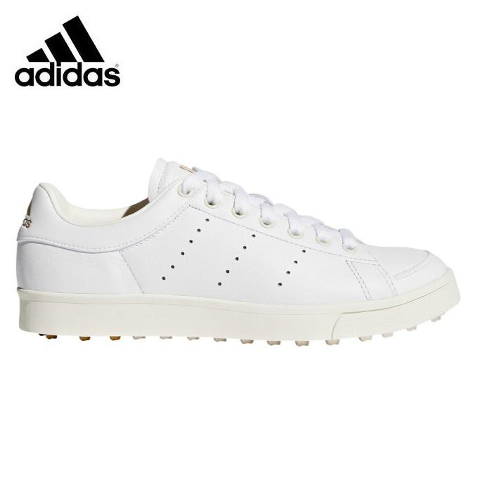 アディダス ゴルフシューズ スパイクレス レディース アディクロス クラシック F33743 WI997 adidas
