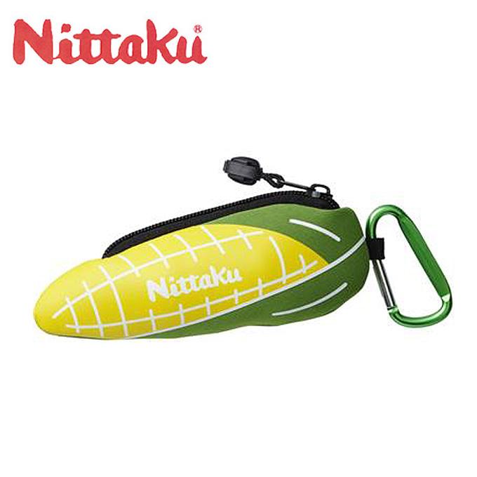 格安 価格でご提供いたします 最新アイテム 購入後レビュー記入でクーポンプレゼント中 ニッタク 卓球ボールケース メンズ レディース もろこしくん ジュニア Nittaku NL-9198