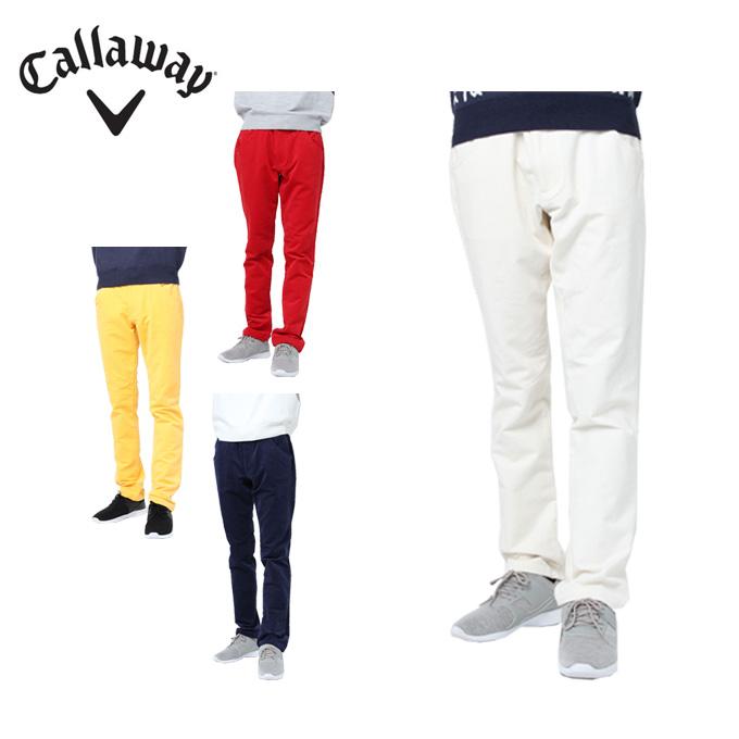 キャロウェイ ゴルフウェア ロングパンツ メンズ 2WAYコーデュロイ 241-8220516 Callaway