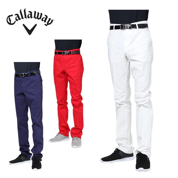 キャロウェイ ゴルフウェア ロングパンツ メンズ 2WAYストレッチストレート 241-8220506 Callaway