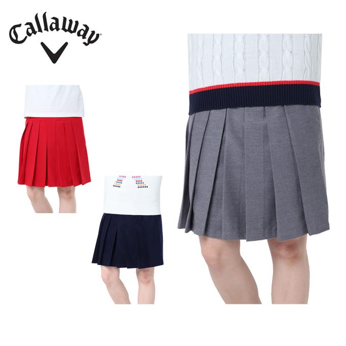 キャロウェイ ゴルフウェア スカート レディース フラノ 241-8225809 Callaway