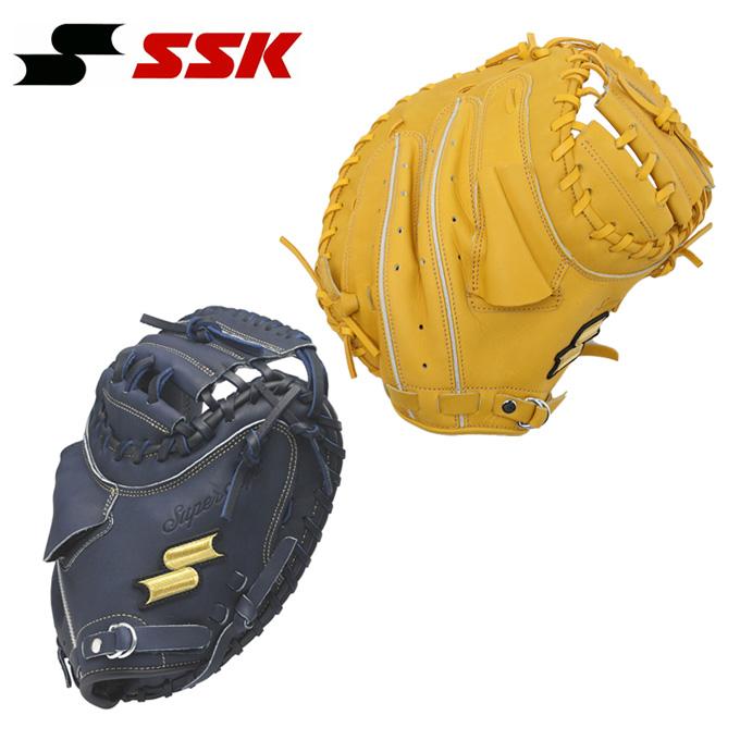 エスエスケイ SSK 野球 一般軟式グラブ 捕手用 メンズ レディース スーパーソフト SSM821F