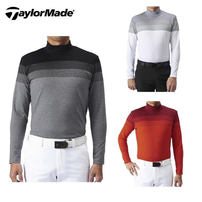 テーラーメイド TaylorMade ゴルフウェア 長袖シャツ メンズ グラデーション ジャカードL/Sモック KX681