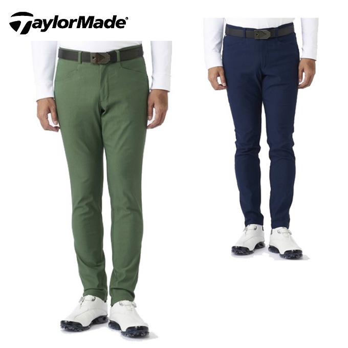 テーラーメイド TaylorMade ゴルフウェア ロングパンツ メンズ テーパード ベーシックパンツ KX715