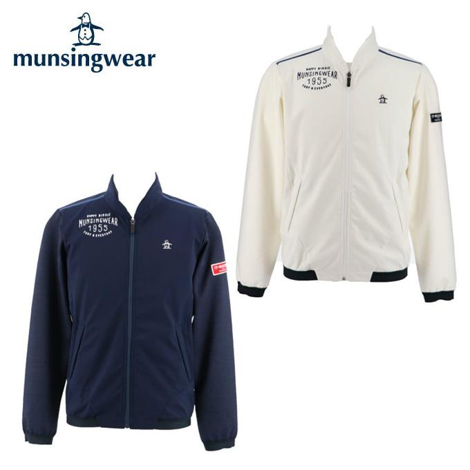 マンシング Munsingwear ゴルフウェア スウェット メンズ ボンディングフルジップジャケット MGMMJL51