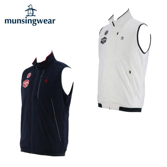 マンシング Munsingwear ゴルフウェア ベスト メンズ ストレッチアウターベスト MGMMJK50