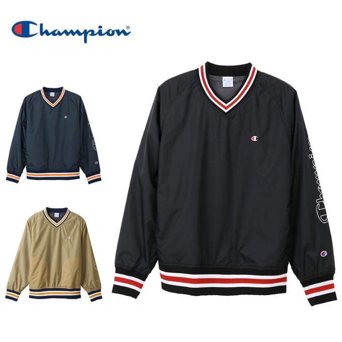 チャンピオン Champion ゴルフウェア ジャケット メンズ Vネックプルオーバー C3-NS603