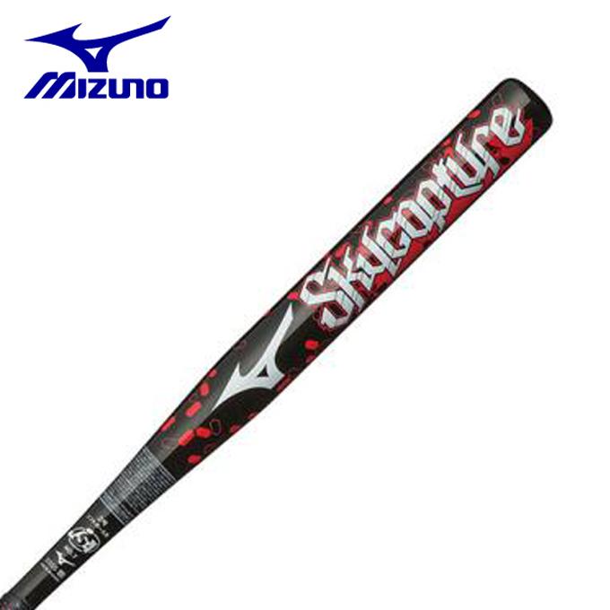 ミズノ ソフトボールバット2号用 メンズ レディース ソフトボール用スカイキャプチャー FRP製 80cm 平均500g 1、2号ボール用 1CJFS61280 MIZUNO
