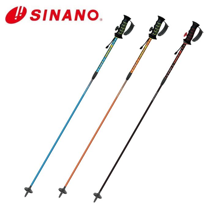 シナノ SINANO スキーストック フリー SV‐LT 伸縮カーボンポール FREE SV-LT