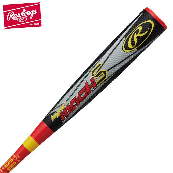 ローリングス Rawlings 野球 少年軟式バット ジュニアハイパーマッハS BJ8FHYMAST