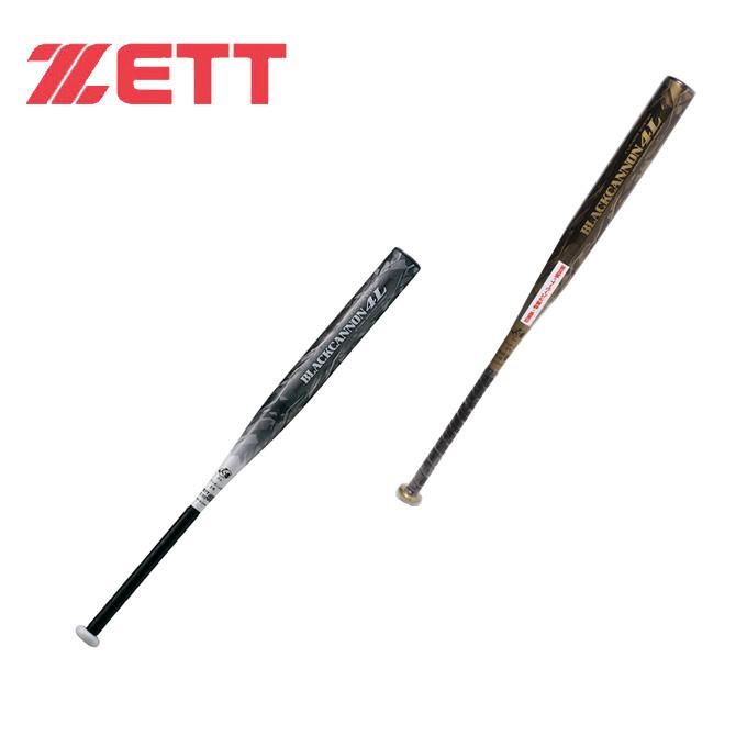 ゼット ZETT ソフトボールバット3号用 メンズ レディース ソフトボール3号 FRP製バット ブラックキャノン4L BCT53883