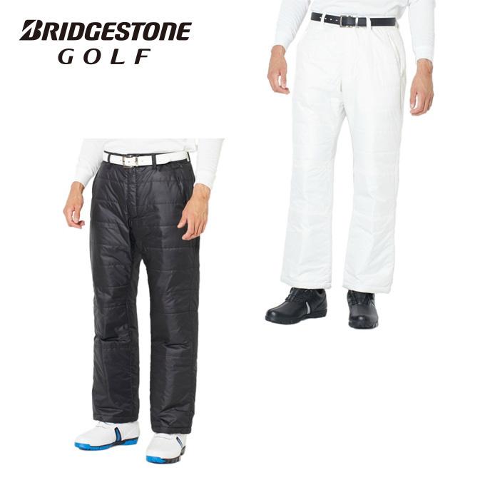 ブリヂストンゴルフ BRIDGESTONE GOLF ゴルフウェア ロングパンツ メンズ ゲイター付中わたウィンドパンツ 6GK01P