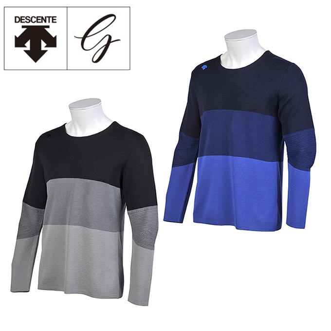 デサントゴルフ DESCENTE GOLF ゴルフウェア セーター メンズ AQUA BOUNCE アクアバウンス DGMMJL01