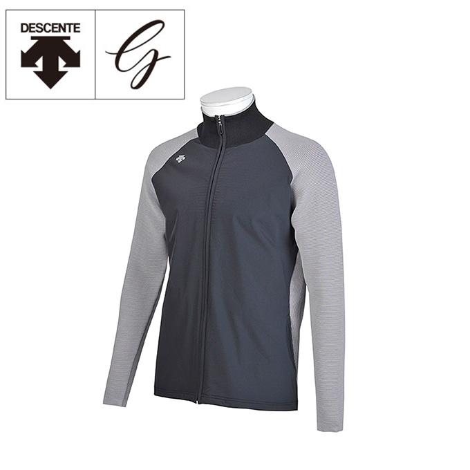 デサントゴルフ DESCENTE GOLF ゴルフウェア ブルゾン メンズ ポーラテックアルファ中わたフルジップセーター DGMMJL03