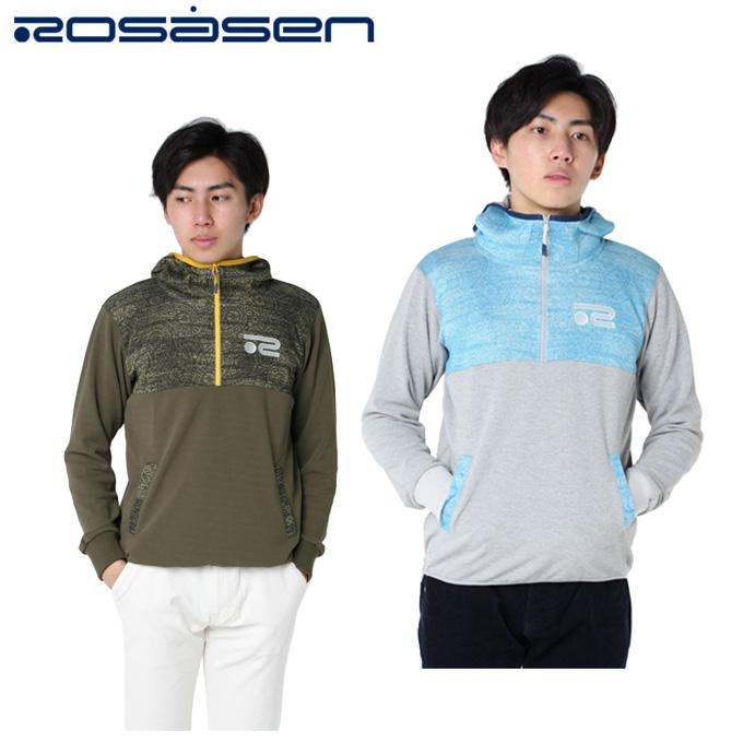 ロサーセン ROSASEN ゴルフウェア ジャケット メンズ ペイズリープル 044-38910