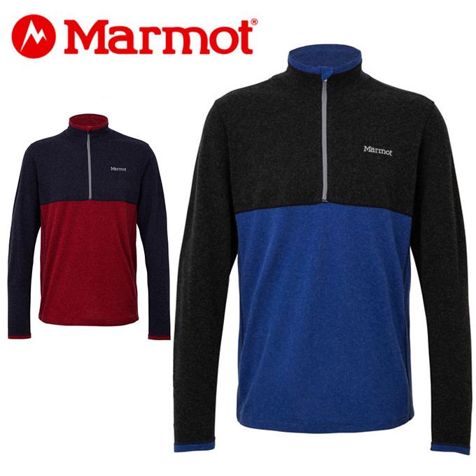 マーモット Marmot 長袖シャツ メンズ Climb Wool Stretch L/S Zip TOMMJB69