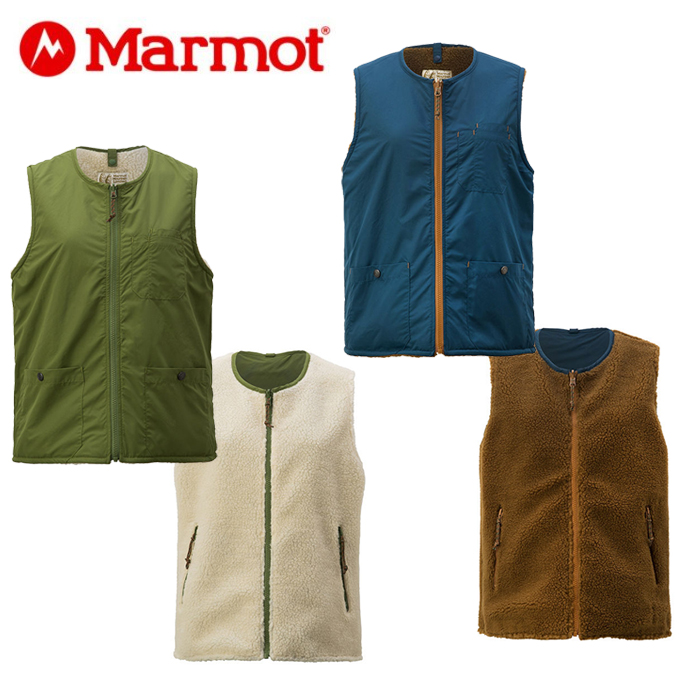 マーモット Marmot ベスト レディース W's Reversible Warm Vest リバーシブル ウォーム ベスト TOWMJL46YY