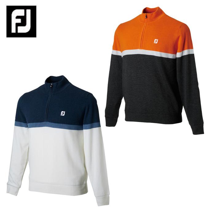 フットジョイ FootJoy ゴルフウェア セーター メンズ ハーフジップラインセーター FJ-F18-M11