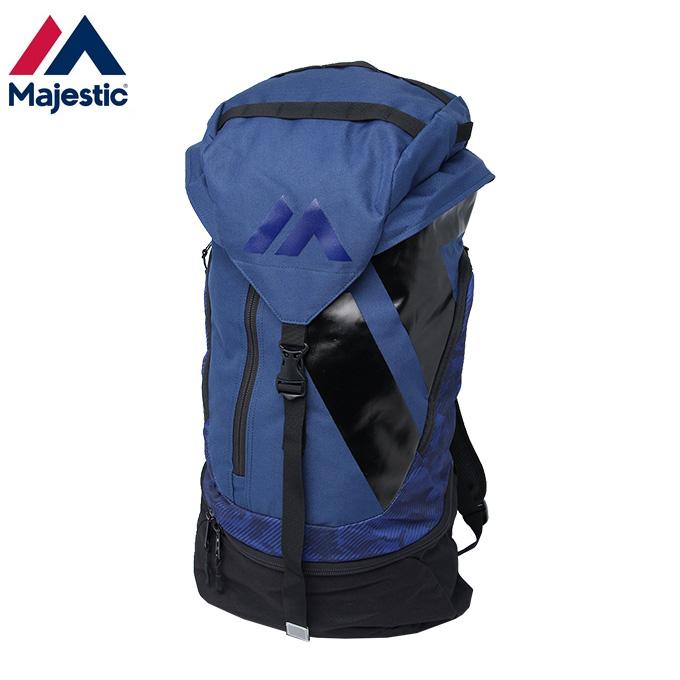 マジェスティック Majestic 野球 バックパック メンズ レディース プラクティス XM13-NVY6-MAJ-0002