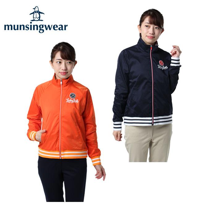 ブルゾン ゴルフウェア レディース MGWMJK03 Munsingwear レクタスジップアップ マンシング