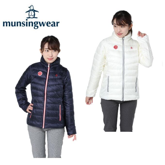 マンシング Munsingwear ゴルフウェア ブルゾン レディース ウルビルド4D2WAYダウン MGWMJK04