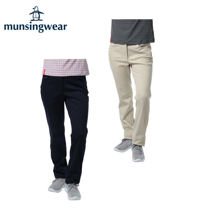 マンシング Munsingwear ゴルフウェア ロングパンツ レディース 360°ストレッチパンツ MGWMJD03