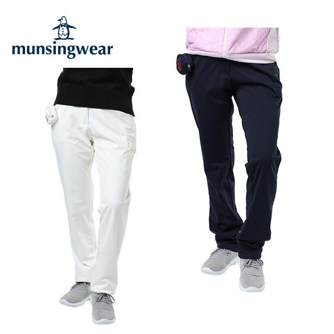 マンシング Munsingwear ゴルフウェア ロングパンツ レディース MOTION3D防風ストレッチパンツ MGWMJD11W
