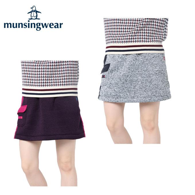 マンシング Munsingwear ゴルフウェア スカート レディース 薄綿入りヒートナビ MGWMJE07