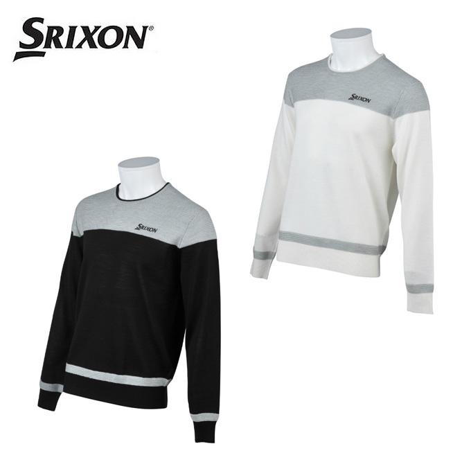 スリクソン SRIXON ゴルフウェア セーター メンズ クルーネックセーター RGMMJL03