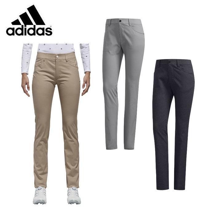アディダス ゴルフウェア ロングパンツ レディース ハウンドトゥース ストレッチパンツ CCT21 adidas