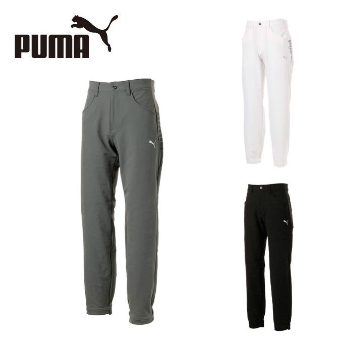 プーマ ゴルフウェア ロングパンツ メンズ PUMAロゴ ニュージョガー パンツ 923755 PUMA