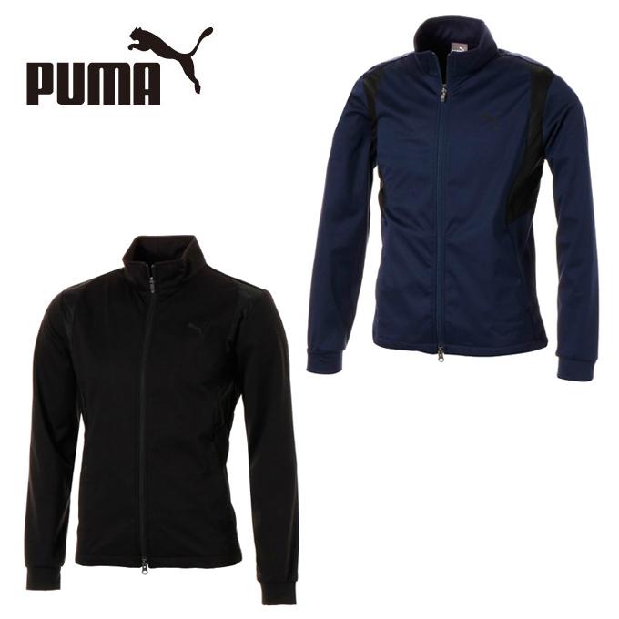 プーマ ゴルフウェア ブルゾン メンズ ゴルフ ソフトシェル エクスベント ジャケット 923760 PUMA