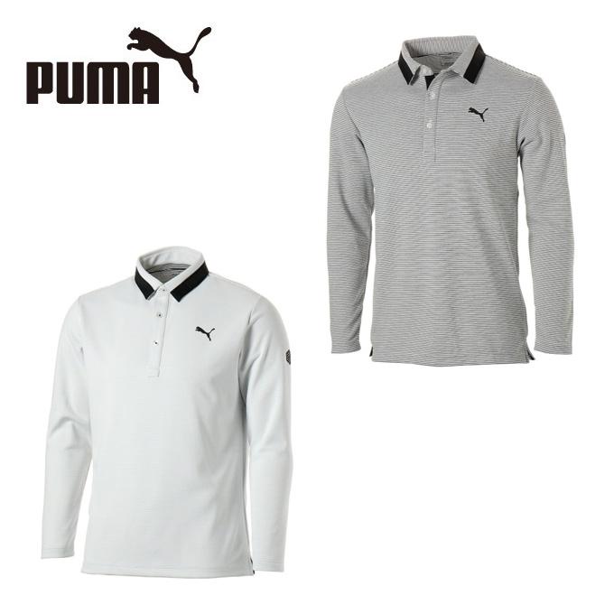 プーマ ゴルフウェア ポロシャツ 長袖 メンズ ゴルフ ジェネラル LS ポロシャツ 923770 PUMA