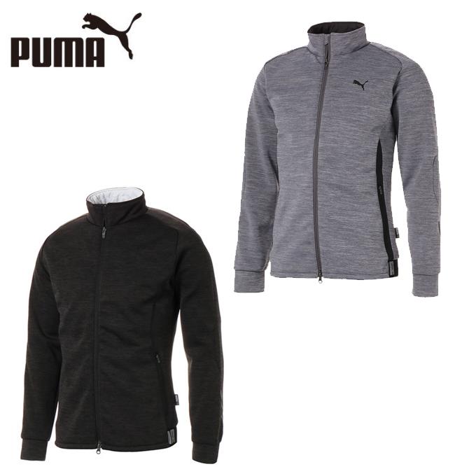 プーマ ゴルフウェア ブルゾン メンズ ゴルフ ビルドイン パデッドジャケット 923784 PUMA