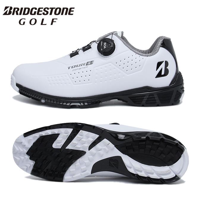 ブリヂストンゴルフ BRIDGESTONE GOLF ゴルフシューズ スパイクレス メンズ ゼロ バイターツアー SHG900