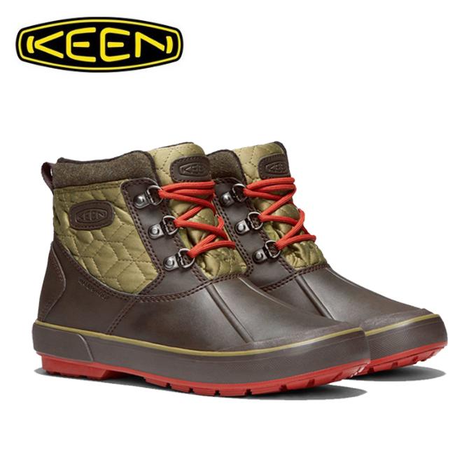 キーン KEEN スノーブーツ 冬靴 レディース ベレテア アンクル キルテッド 防水ブーツ 1019602 MU/MO