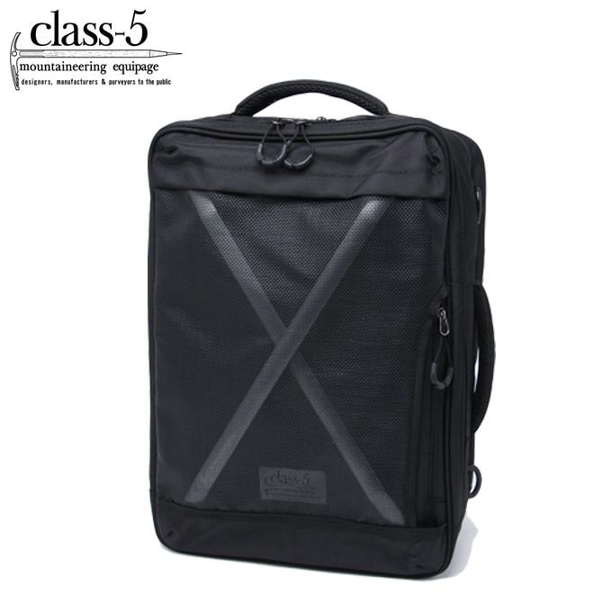 クラスファイブ Class-5 バックパック メンズ レディース X-F 3ウェイ C5-104 BK