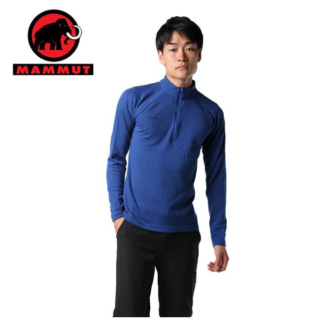 マムート MAMMUT 長袖シャツ メンズ PERFORMANCE Thermal Zip long Sleeve Men パフォーマンス サーマル 1016-00090 5967