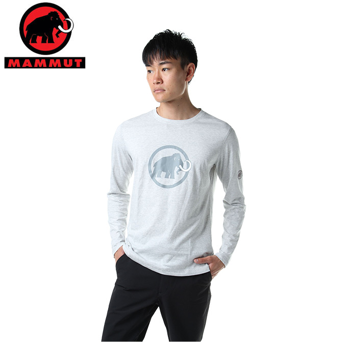 マムート MAMMUT Tシャツ 長袖 メンズ Logo Longsleeve ロゴ ロングスリーブ 1041-07081 00106