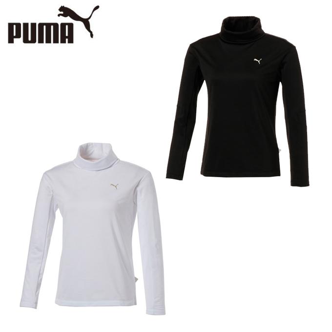 プーマ ゴルフウェア 長袖シャツ レディース ゴルフ ウィメンズ LS タートルネックシャツ 923804 PUMA