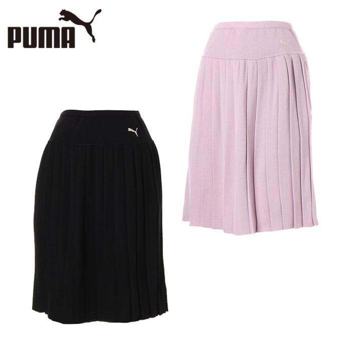プーマ ゴルフウェア スカート レディース ゴルフ ウィメンズ プリーツニットスカート 923807 PUMA