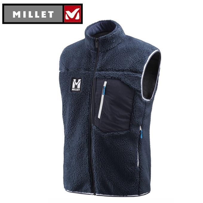 ミレー MILLET フリース メンズ 8 セブン ウィンドシープ ベスト MIV7988 7317
