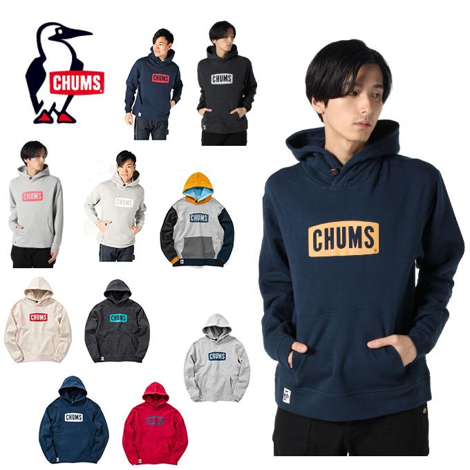 チャムス CHUMS スウェット メンズ CHUMS Logo Pull Over Parka チャムスロゴプルオーバーパーカー CH00-1114