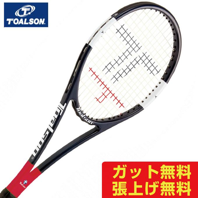 トアルソン 硬式 練習用ラケット スウィートエリア320 SWEET AREA RACKET 1DR93200 TOALSON メンズ レディース