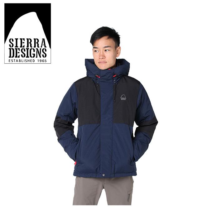 シェラデザイン SIERRA DESIGNS 中綿ジャケット メンズ スイッチングフード 20926472 NV