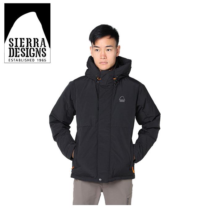 シェラデザイン SIERRA DESIGNS 中綿ジャケット メンズ スイッチングフード 20926472 BK